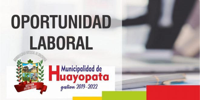 Convocatoria CAS – Abril 2019